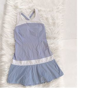 Lululemon Hot Hitter Dress Cool Breeze Blue